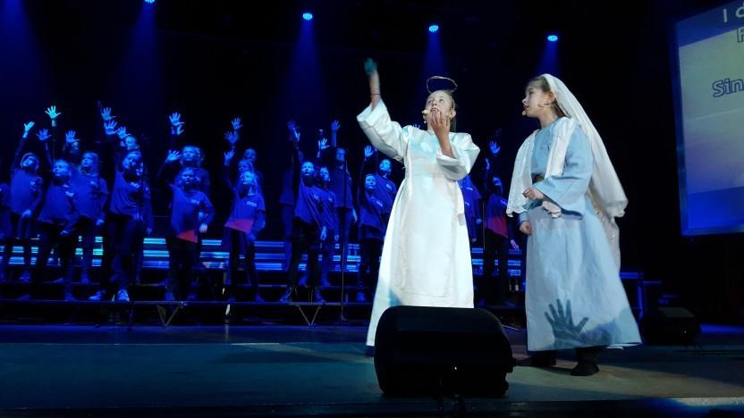 Alle fire skolekoncerter i Sønderjyllandshallen fyldt