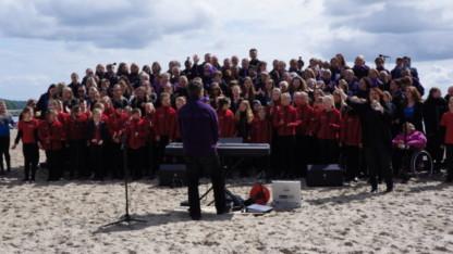 2. pinsedag gospelfestival på Sønderstrand i Aabenraa