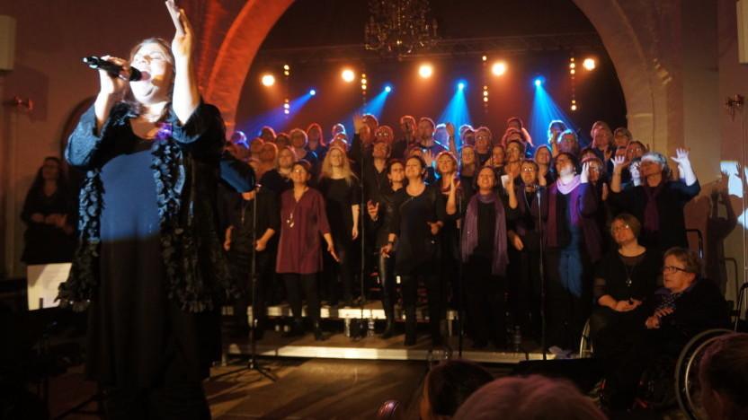 Optagelse i koret