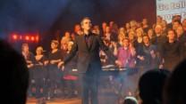 GospelOaks synger til Pipes and Drums nytårsparole i Sønderborg