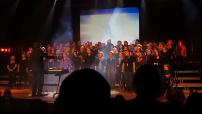 GospelOaks medvirker ved Stafet for Livet